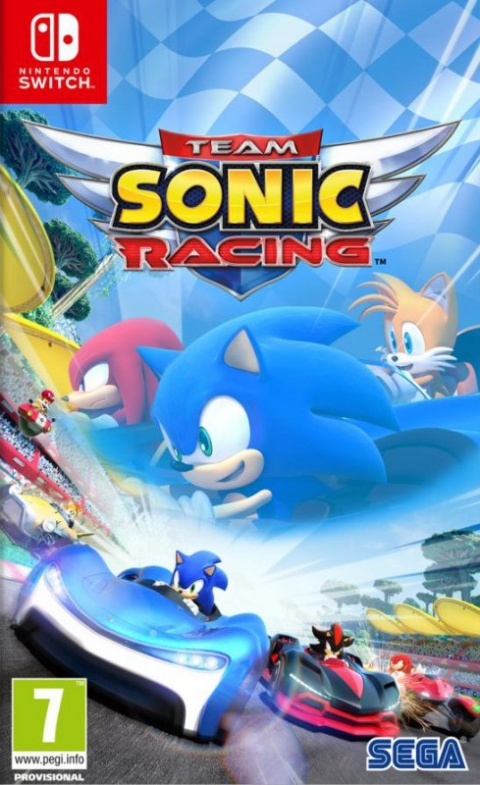 Team Sonic Racing sur Switch