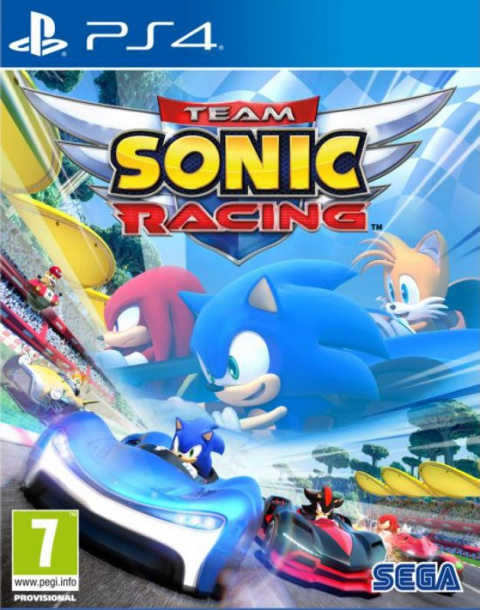 Team Sonic Racing sur PS4