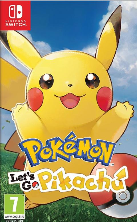 Pokémon Let's Go, Pikachu sur Switch