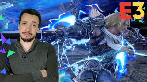 E3 : Soul Calibur VI : Geralt, Groh et Yoshimitsu à l'honneur