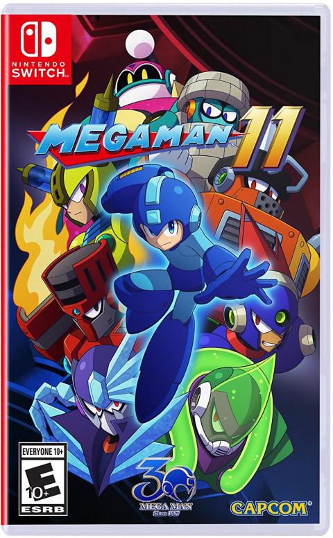 Mega Man 11 sur Switch