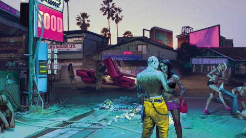Cyberpunk 2077 de retour sur le PS Store avec un avertissement
