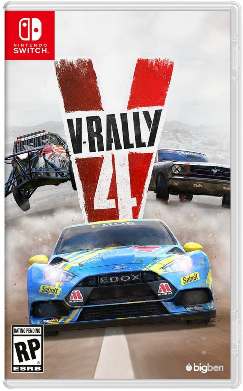 V-Rally 4 sur Switch