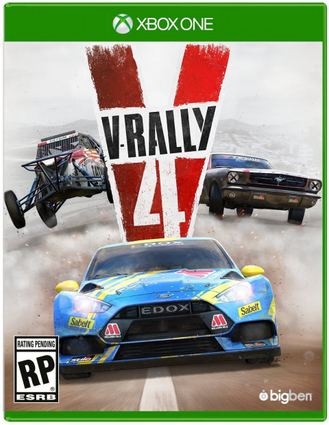 V-Rally 4 sur ONE