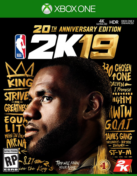 NBA 2K19 sur ONE