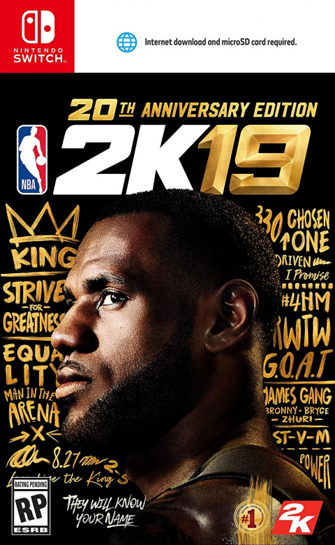 NBA 2K19 sur Switch