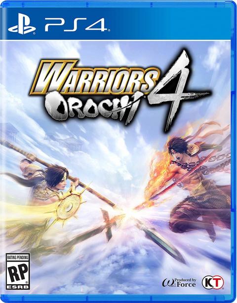 Warriors Orochi 4 sur PS4