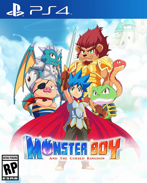 Monster Boy et le Royaume Maudit sur PS4