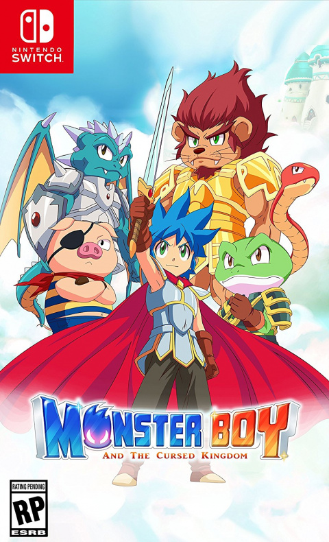 Monster Boy et le Royaume Maudit sur Switch