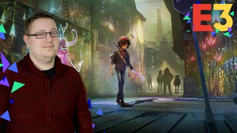 E3 : Concrete Genie, peindre et donner la vie dans un monde enchanteur