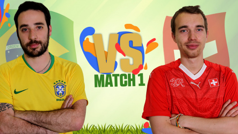 CDM JV 2018 : Brésil (Rivaol) - Suisse (Demow) - (1ère journée)