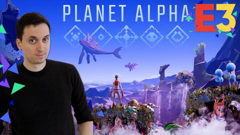 E3 : Planet Alpha : Plate-forme et infiltration sur une planète très lointaine
