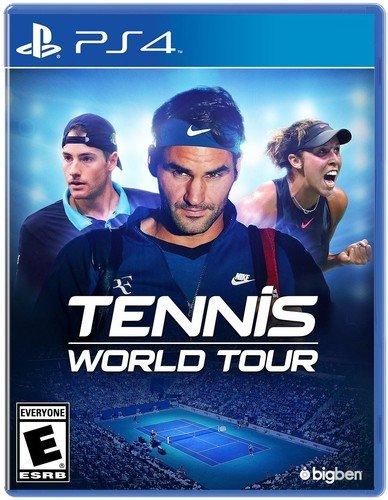 Tennis World Tour sur PS4