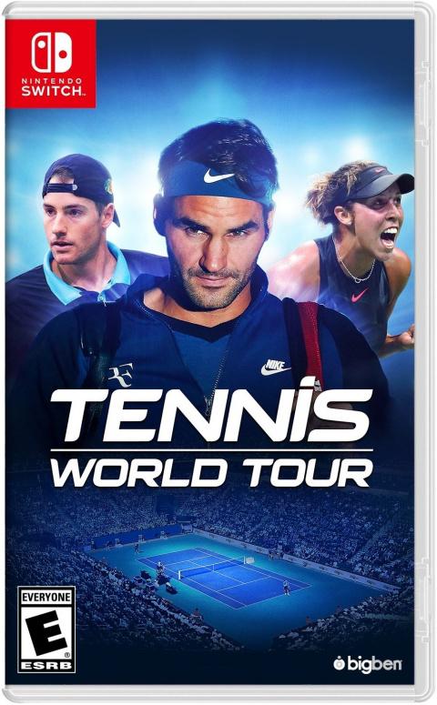 Tennis World Tour sur Switch