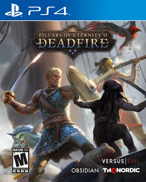 Pillars of Eternity 2 : Deadfire sur PS4