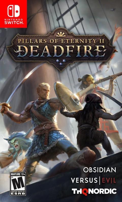 Pillars of Eternity 2 : Deadfire sur Switch