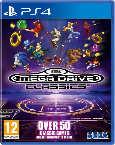 Sega Mega Drive Classics sur PS4