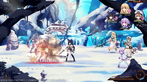 Super Neptunia RPG également reporté au Japon