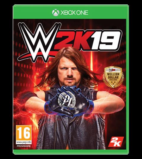 WWE 2K19 sur ONE