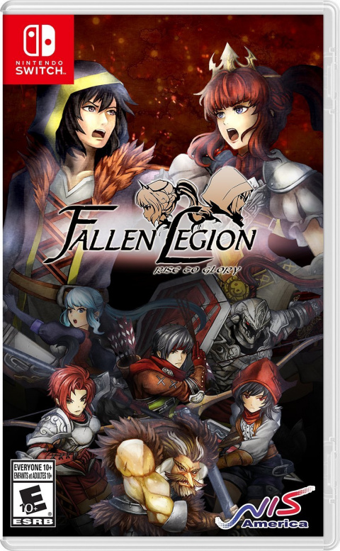 Fallen Legion : Rise to Glory sur Switch