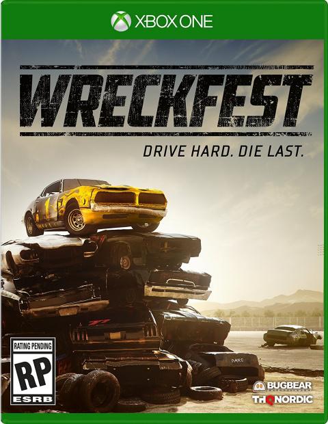 Wreckfest sur ONE