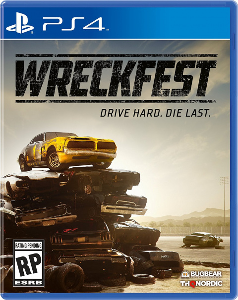 wreckfest sur playstation 4. Black Bedroom Furniture Sets. Home Design Ideas