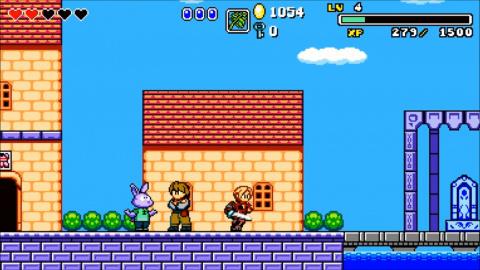 Aggelos, un A-RPG aux allures de Wonder Boy disponible ce soir sur PC