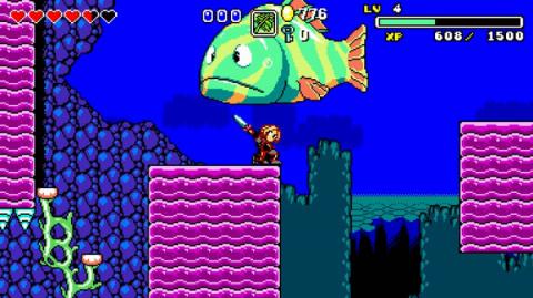 Aggelos : Le jeu d'action-RPG en 2D daté sur PS4 et Xbox One