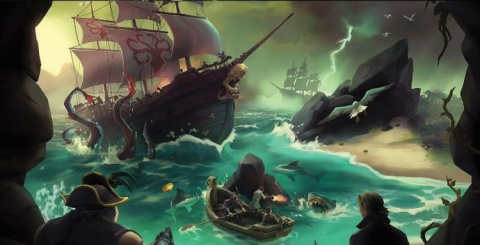 Sea of Thieves : Cursed Sails sur ONE