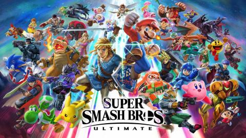 Super Smash Bros. Ultimate : les 65 personnages du prochain opus réunis en un seul trailer
