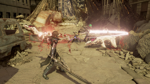 Code Vein montre à nouveau son action en images