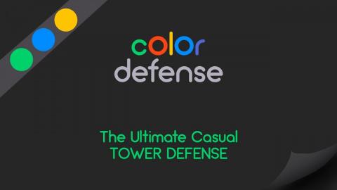 Color Defense sur iOS