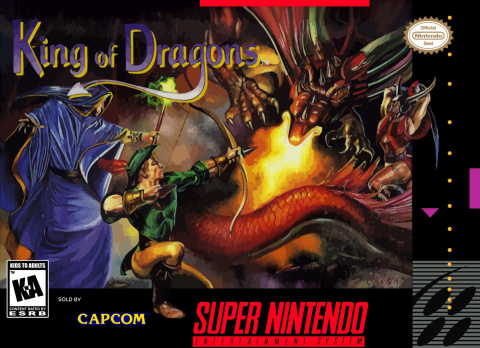 The King of Dragons sur SNES
