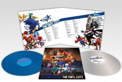 Sonic Forces : La BO sur double vinyle