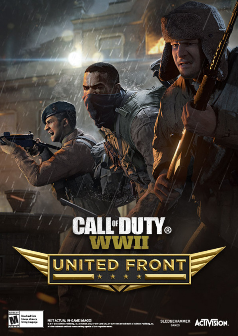 Call of Duty : WWII - The United Front sur PS4