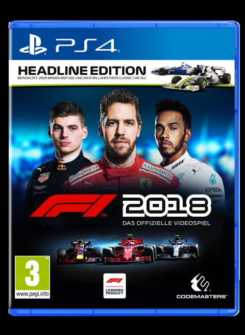 F1 2018 sur PS4