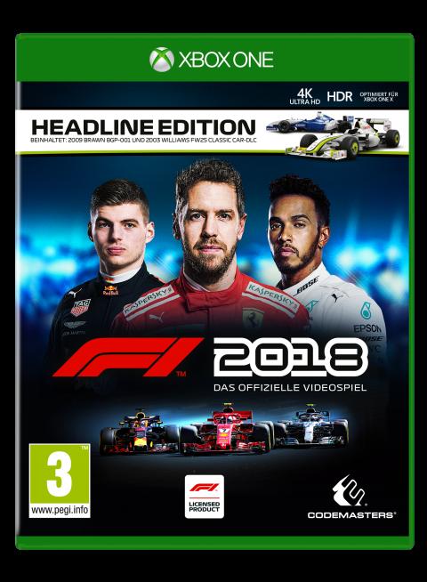 F1 2018 sur ONE