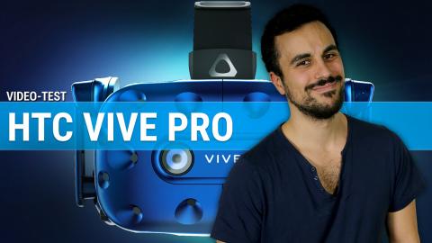 HTC Vive Pro : A qui se destine ce casque VR à près de 900€ ?