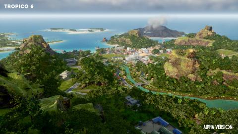 Tropico 6 : la bêta ouverte à tous jusqu'à vendredi