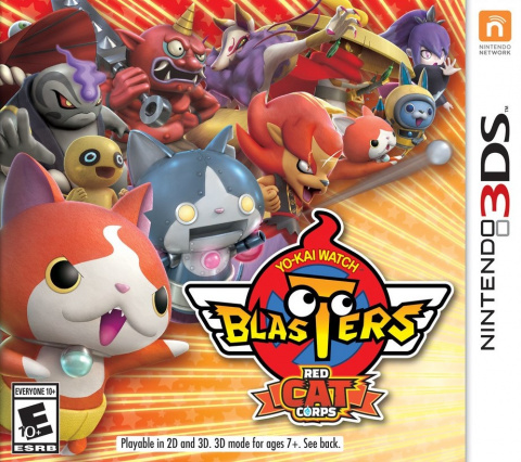 Yo-Kai Watch Blasters : Peloton du Chat Rouge sur 3DS