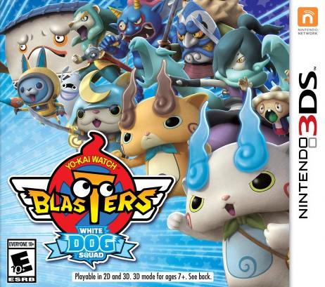 Yo-Kai Watch Blasters : L'Escadron du Chien Blanc sur 3DS
