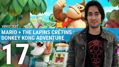 Mario + The Lapins Crétins : Donkey Kong Adventure, notre avis en 3 minutes