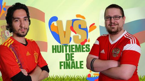 CDM JV 2018 : Espagne (Carnbee) - Russie (Kaaraj) - (1/8e de finale)