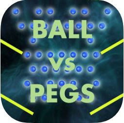 Ball vs Pegs sur iOS