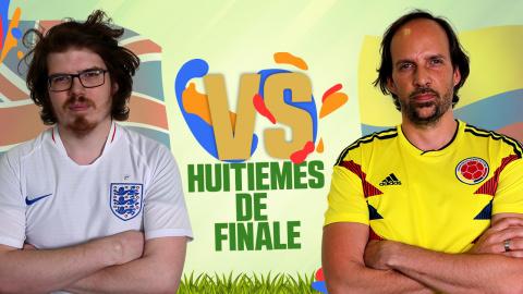 CDM JV 2018 : Angleterre (Louis) - Colombie (Mimic) - (1/8e de finale)