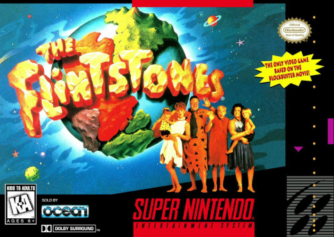 The Flintstones sur SNES