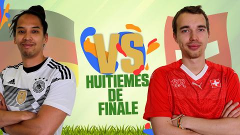 CDM JV 2018 : Allemagne (Lâm) - Suisse (Antistar) - (1/8e de finale)