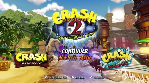 Crash Bandicoot N. Sane Trilogy, solution complète