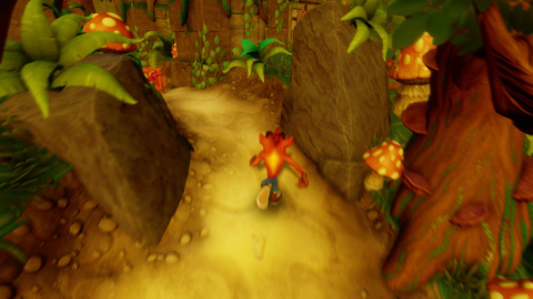 Crash Bandicoot N. Sane Trilogy, une version un peu en dessous