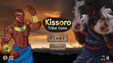 Kissoro Tribal Game sur Android